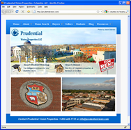 Web Design for Prudential Vision Properties
