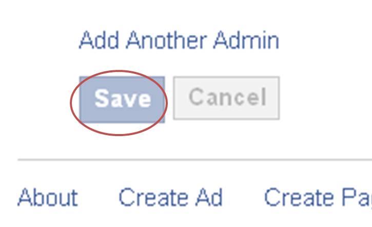 Facebook Admins
