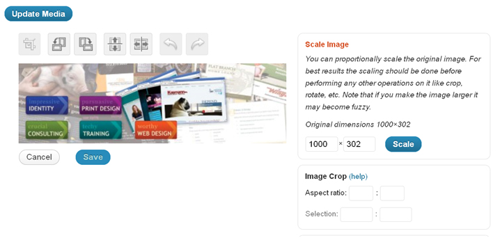 Crop Resize WP Images