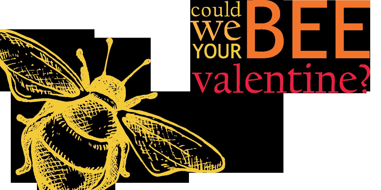Bee Valentine Images Alt Text