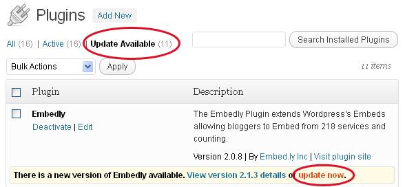 Follow the Warning: Update Your WordPress Plugins