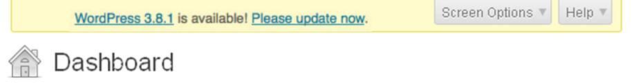 Follow the Warning: Update Your WordPress