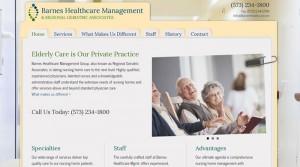 Barnes Healthcare Management Site