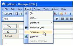 Outlook bar