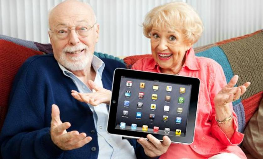 Even grandparents use tablets!