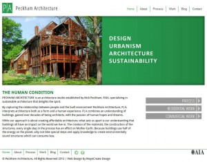 The New Modern Peckham Architecture Website