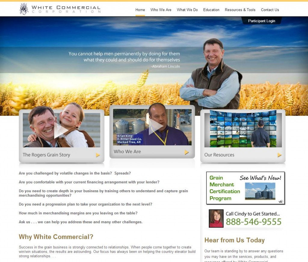 white commercial corporation