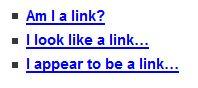 Am I a link?