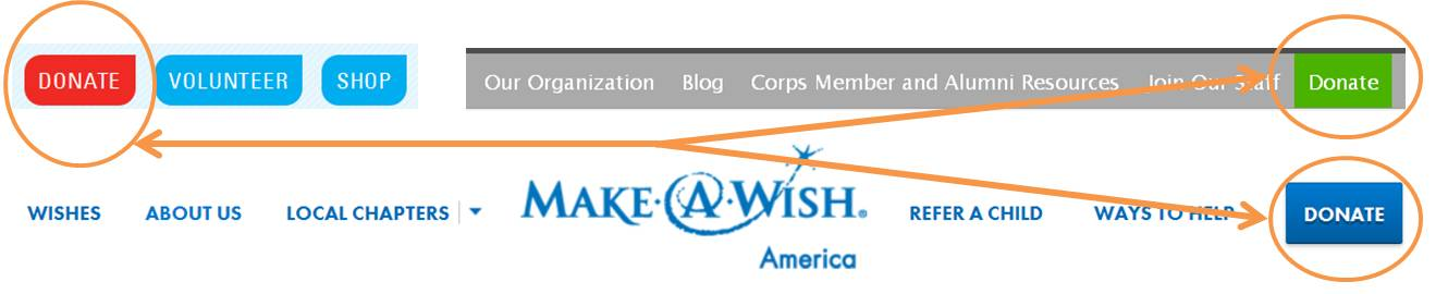 To name just a few, Make-A-Wish, UNICEF and Teach for America are organizations already implementing this web design tactic.