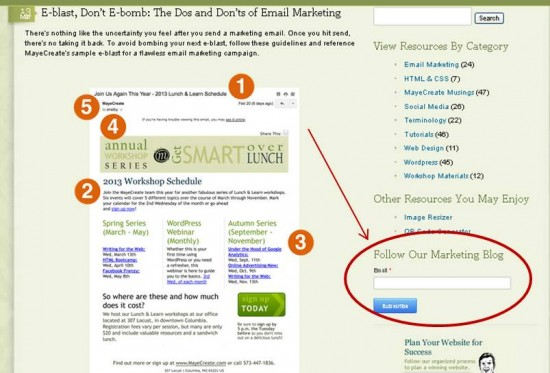 Subscribe to Marketing Blog