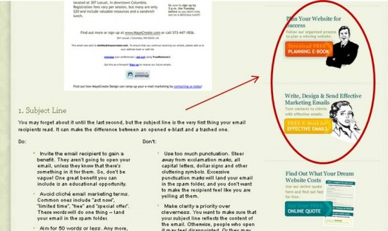 anatomy of a lead generating blog post mayecreate design