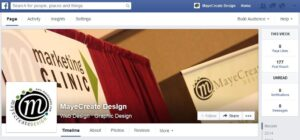 MayeCreate Design Facebook Page