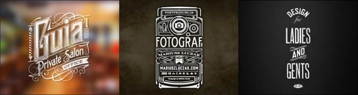 Vintage Type Setting Feel Logos