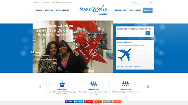 Make-A-Wish Foundation: Missouri