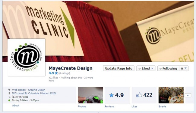 MayeCreate on Facebook