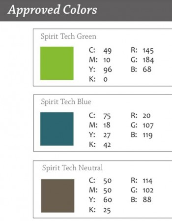Approved Colors
