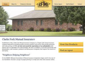 MayeCreate Design: Clarks Fork Mutual Insurance Company