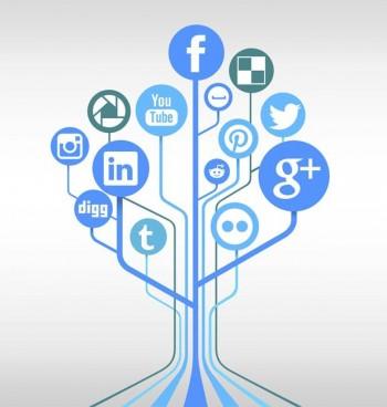 Mix in 20 social media posts