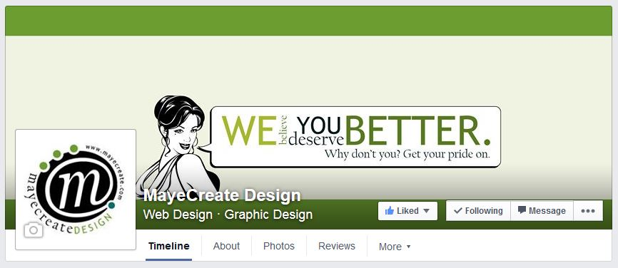 MayeCreate Design Facebook Cover Photo