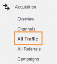Locate Traffic Sources