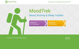 Moodtrek: A Unique Way to Track Mood, Activity & Sleep