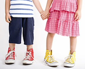 Kids Holding Hands - Stretched JPG