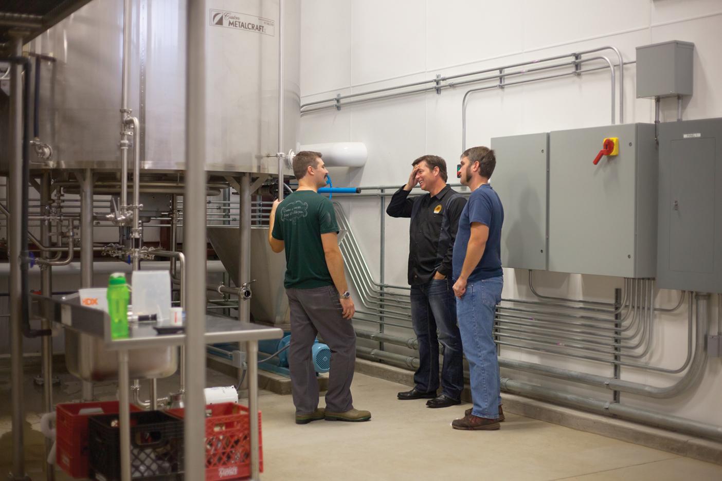 Bur Oak Brewing Company Team