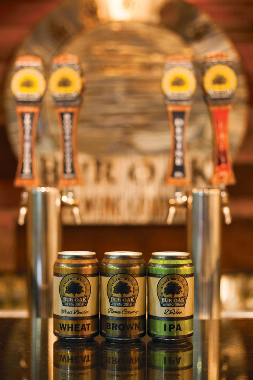 Bur Oak Brewing Company Tap Room