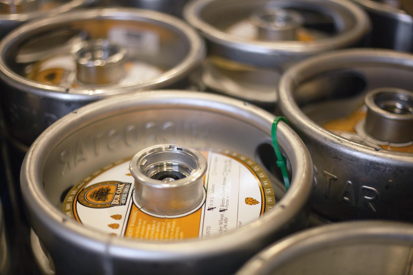 Bur Oak Brewing Company Keg Collar