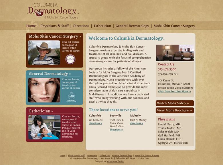 A Look Inside the Project: Central Missouri Dermatology | MayeCreate