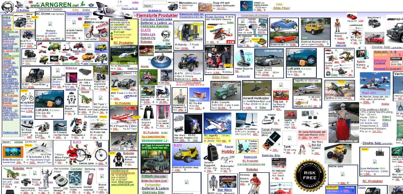 1990s Website