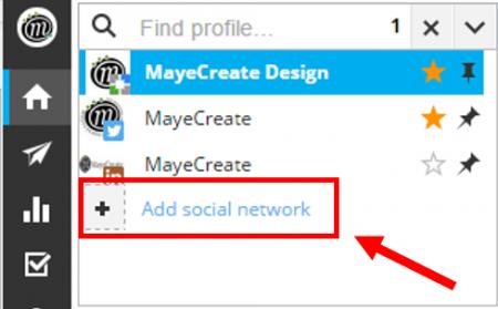 Add social network