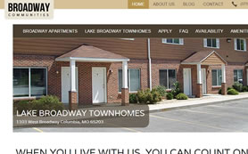 Broadway Communities Has a New Website