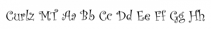CurlzMT Font - Visual Branding