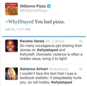 #WhyIStayed