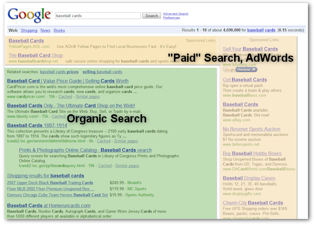 google-search-organic-vs-paid