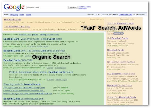 google-search-organic-vs-paid