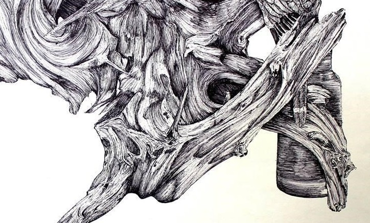 Driftwood in Ink by Rebecca Thomas