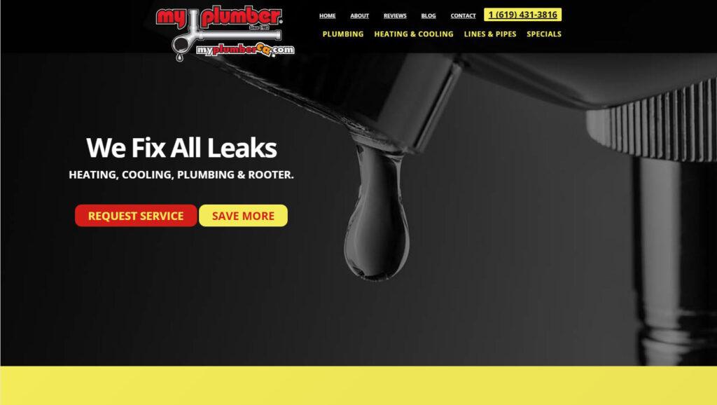 Plumbing Website Trends | MayeCreate Design