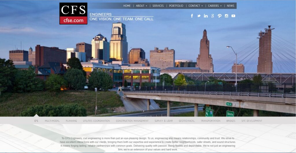 CFS is a professional engineer and surveying service provider.