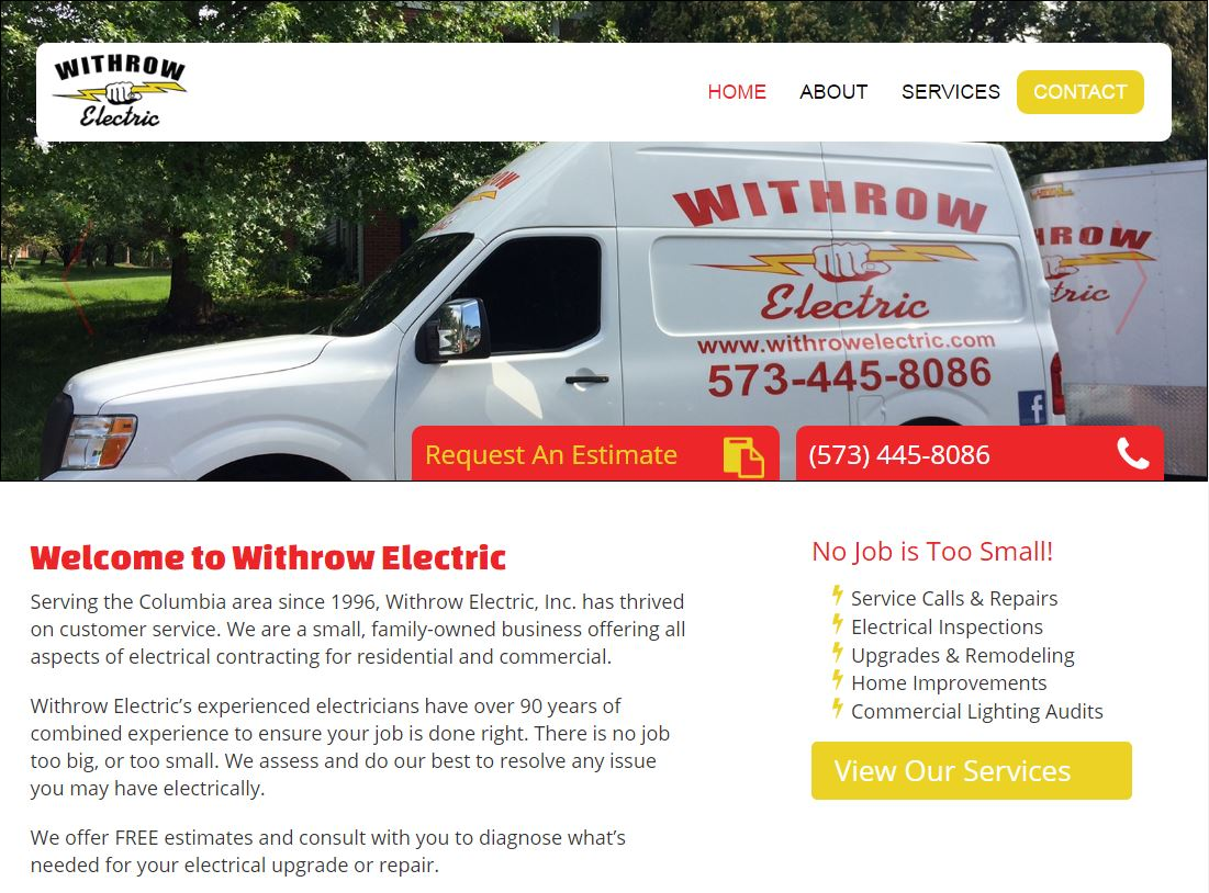 Electrical Contractor Website Trends | MayeCreate Design