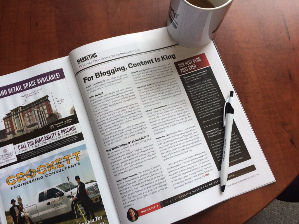 Published Article in the Columbia Business Times magazine