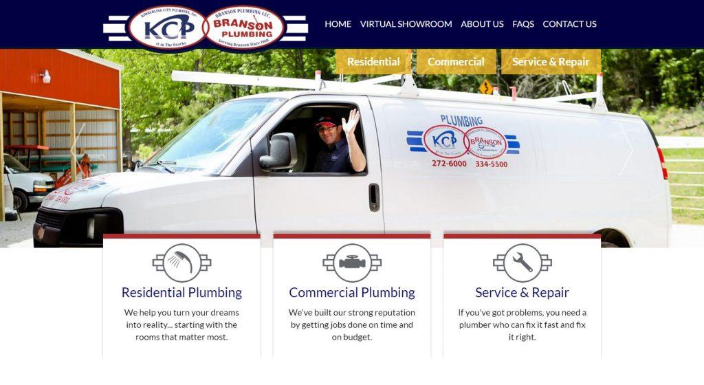 Kimberling City Plumbing Homepage