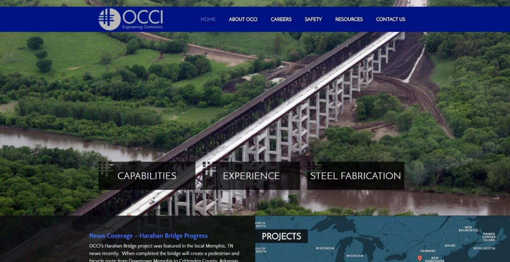 OCCI Engineering Contractors services mid-Missouri since 1985.