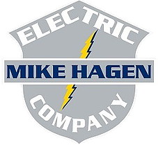 Unique Logo example for electrical contractor websites.