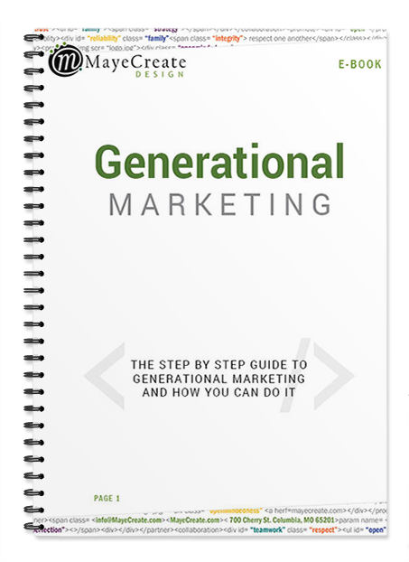 Generational Marketing Book Cover