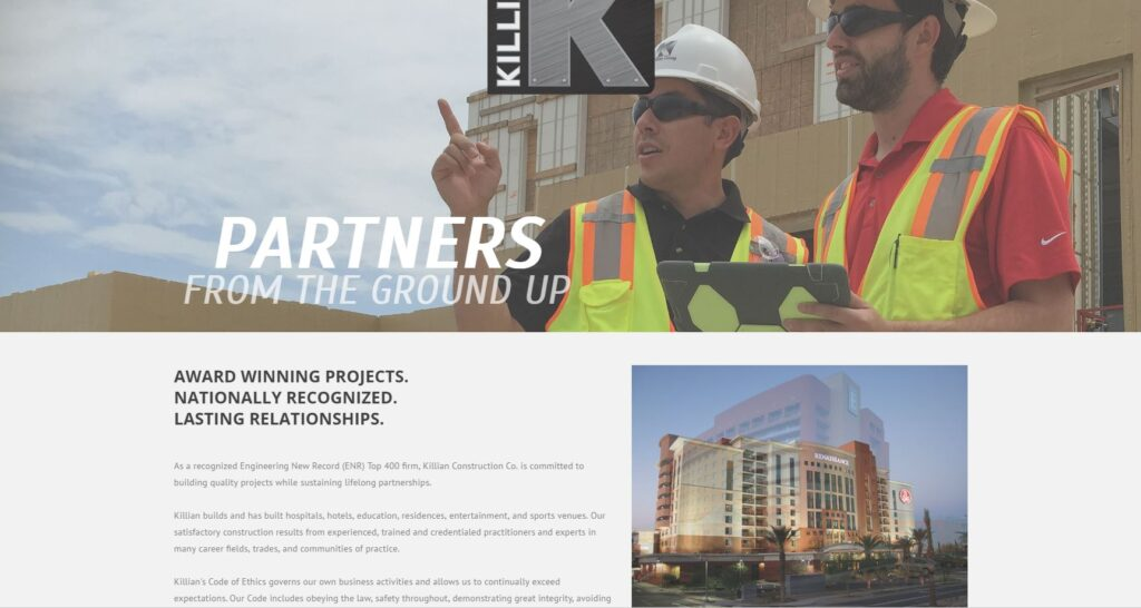 Commercial construction company servicing the Springfield area.