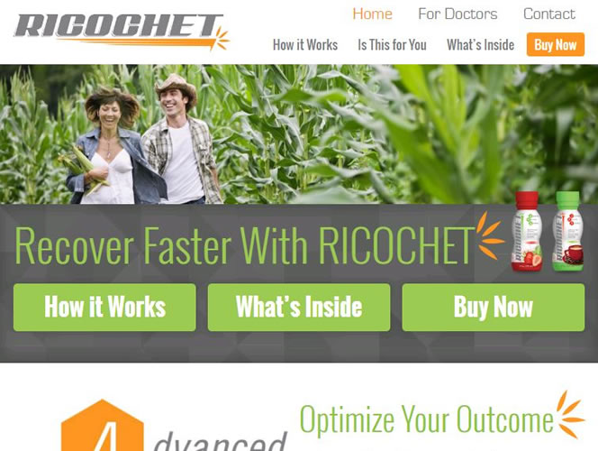 Ricochet Nutrition's Homepage