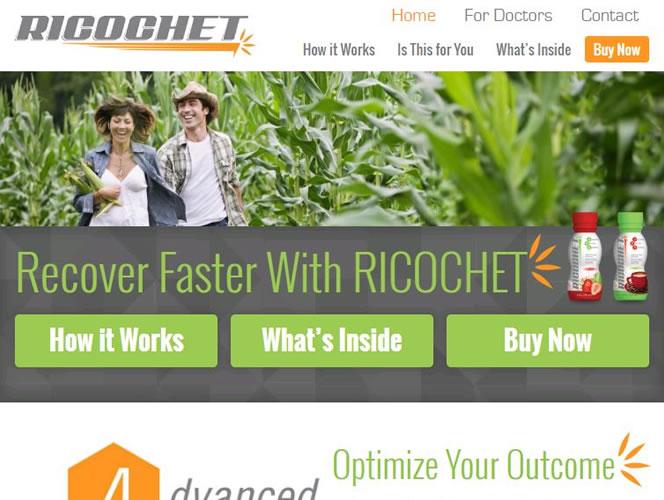 Ricochet Nutrition's Homepage