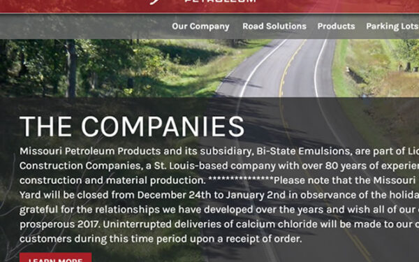 Missouri Petroleum has Paved Their Way to a New Website!